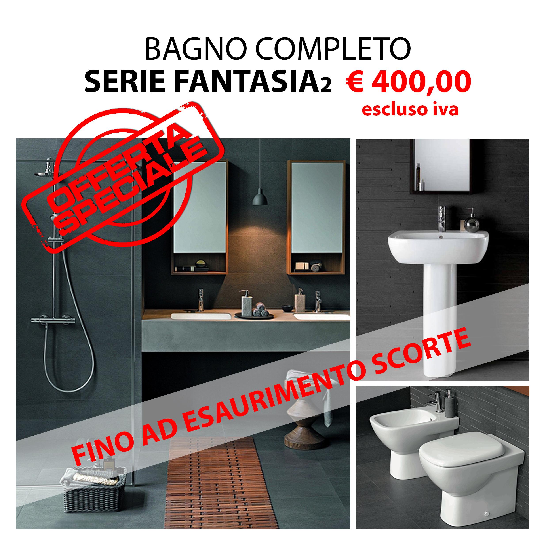 Bagno completo FANTASIA 2 di Pozzi Ginori